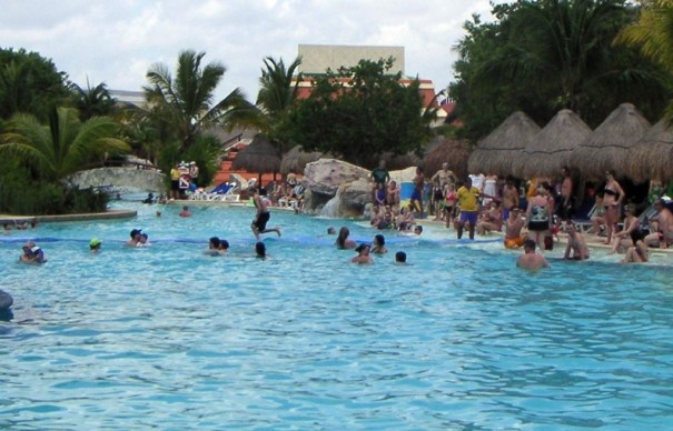 Walking on Water at the Iberostar Paraiso Lindo