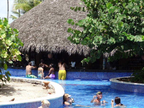 Dreams Punta Cana Swim-Up Bar
