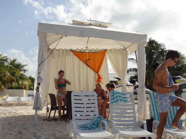 Our Royal Palms Beach Cabana
