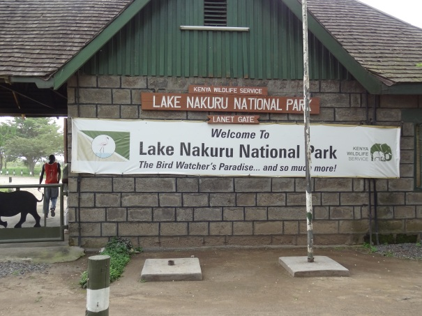Lake Nakuru National Park Entrance