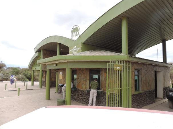 Amboseli National Park Entrance - Kimana Gate